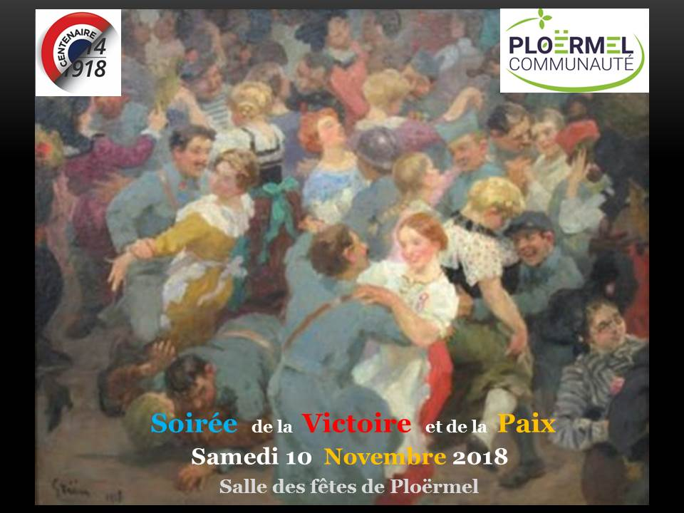 SoirÇe de la Victoire et de la paix   10 Novembre 2018    diapo annonce