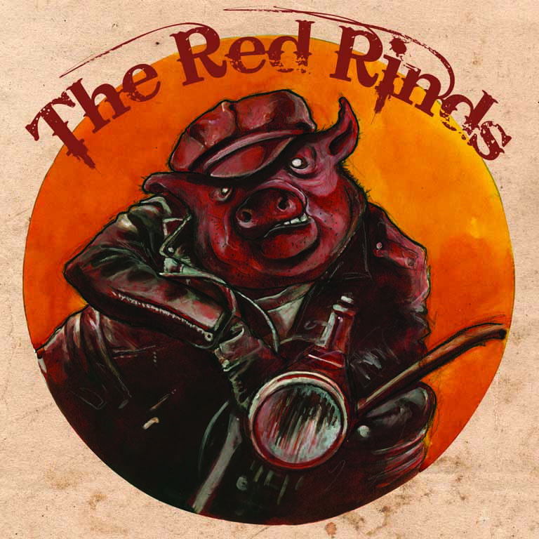 The Red Rinds - visuel