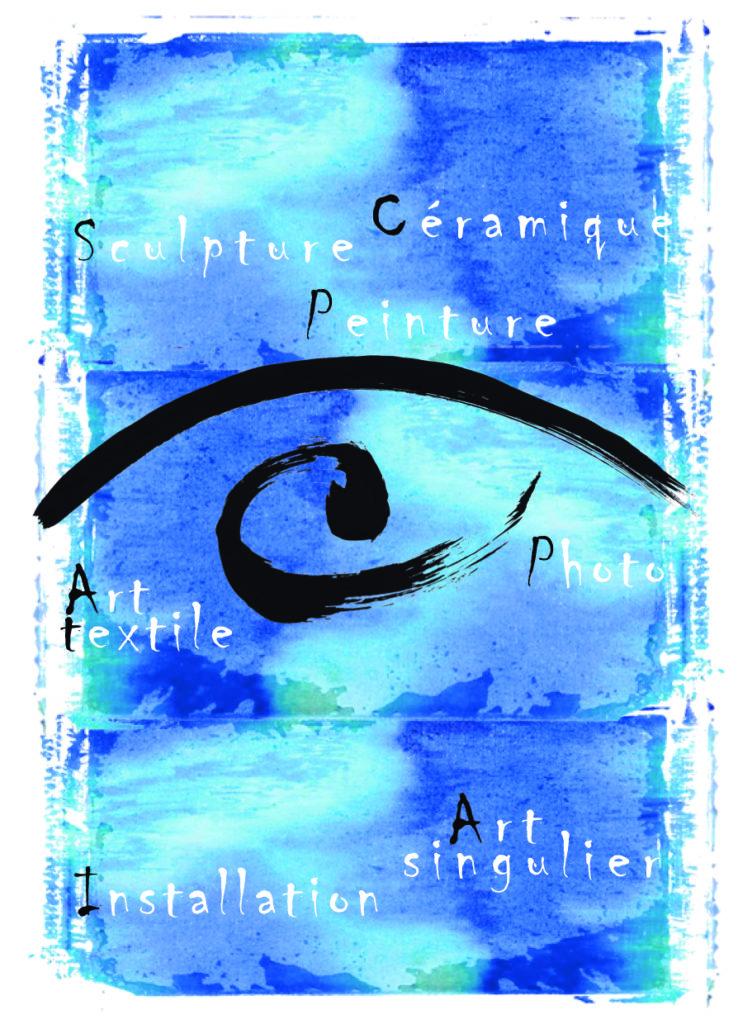 Affiche expo collectif d'artistes