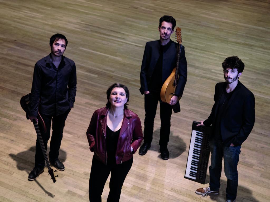 Annie Ebrel Quartet ©Eric Legret